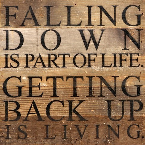 Falling Down Wall Art