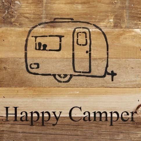 Happy Camper Wall Art
