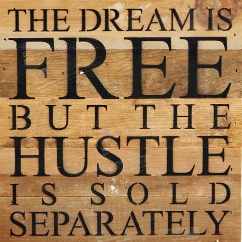 The Dream is Free Wall Art