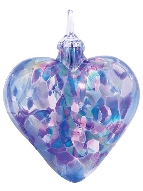 Lavender Classic Heart Ornament