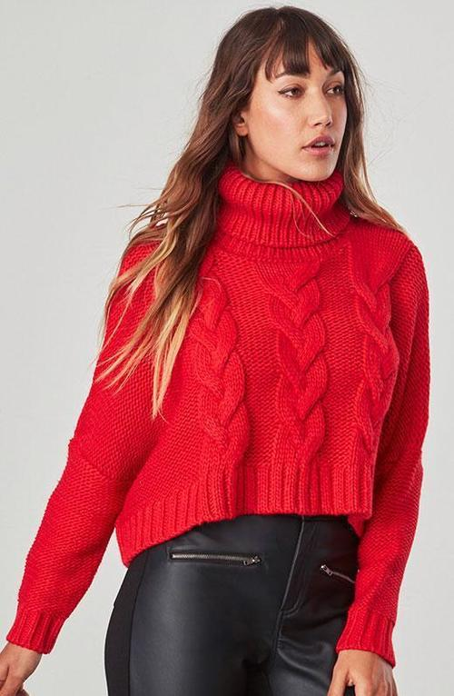 Hobie Cropped Sweater