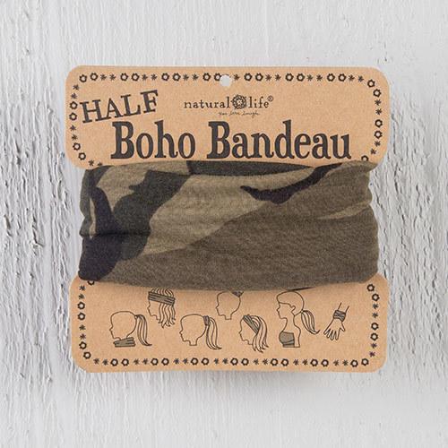 Olive Camo 1/2 Boho Bandeau