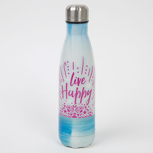 Live Happy Water Bottle