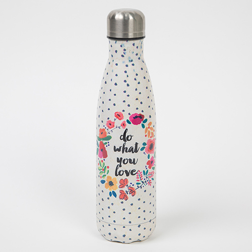 Do What You Love Double Wall Water Bottle