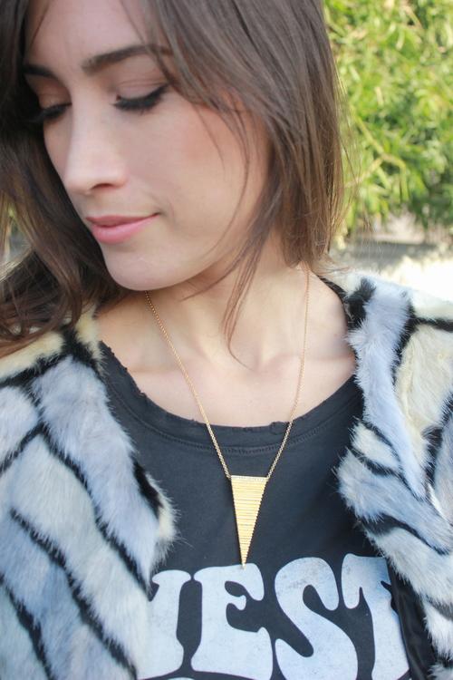 Arrow Spine Necklace