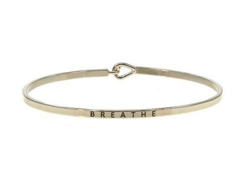 Breathe Bangle Bracelet