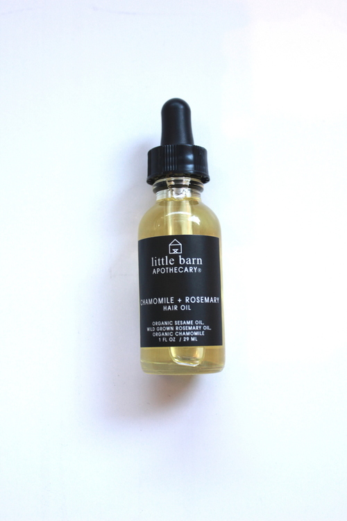 Chamomile + Rosemary Hair Oil