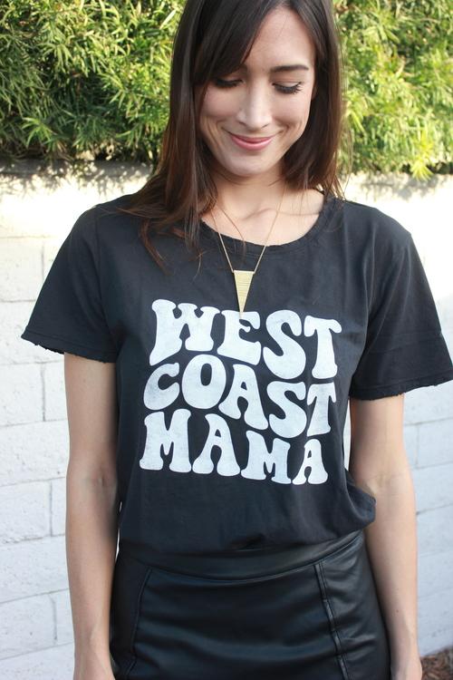 West Coast Mama Tee