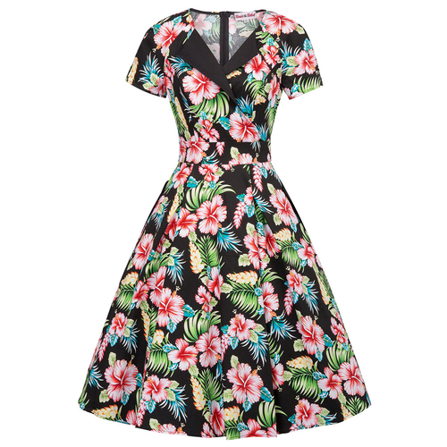 Leilani Floral Swing Dress (2 print options)