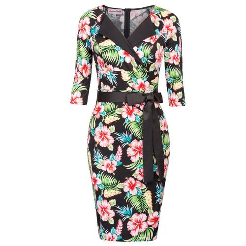 Leilani Floral Pencil Dress (2 Print options)