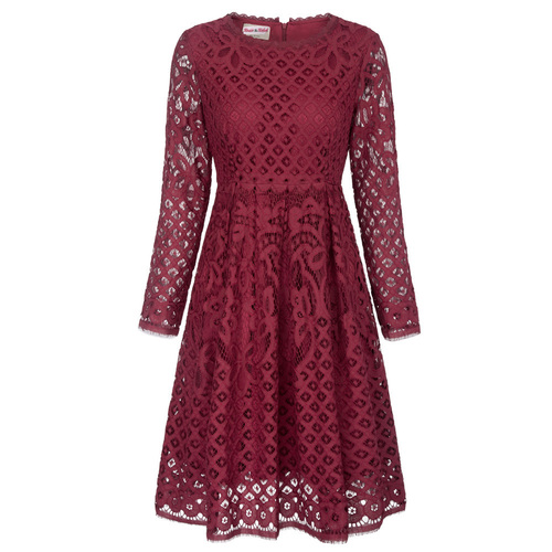 Vera Lace Dress (S-2X)
