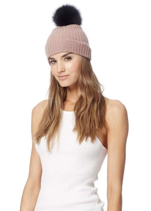 7522f178b519ab Lulu Pom Beanie By 360 Sweater | Piajeh Boutique | Newport Beach, Orange  County