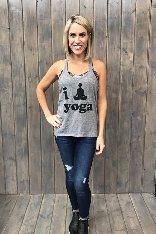 I Yoga Yoga Tank