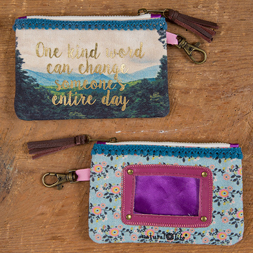 One Kind Word ID Pouch