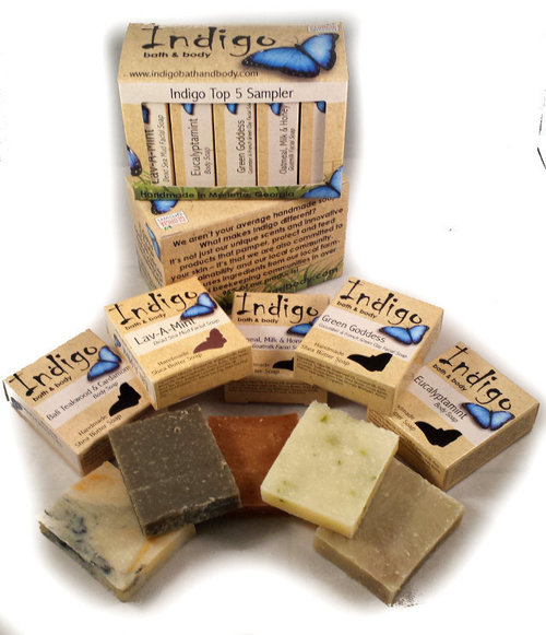 Top 5 Soap Sampler Pack