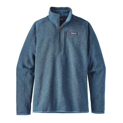 Patagonia M Better Sweater Quarter Zip Big Sur Blue