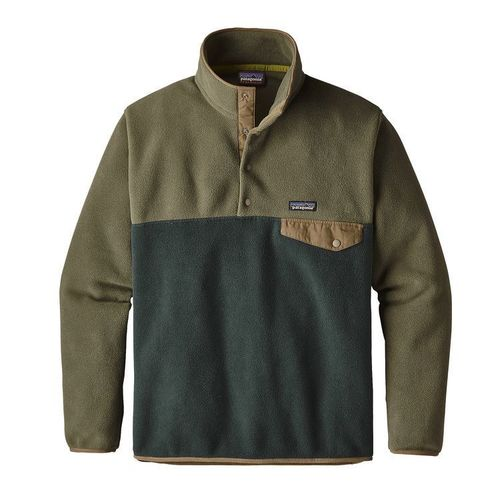 Patagonia M LW Synch Snap-T P/O Industrial Green