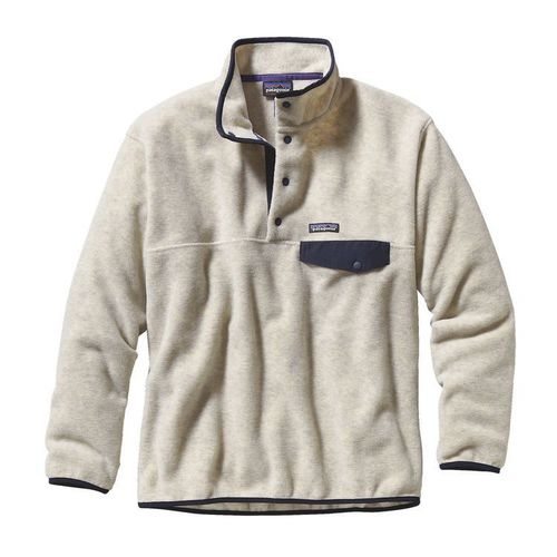 Patagonia M Synchilla Snap-T Pull Over Oatmeal Heather