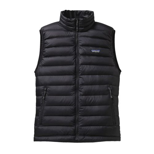 Patagonia M Down Sweater Vest Black