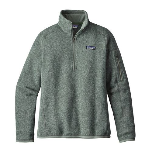Patagonia W Better Sweater Quarter Zip Hemlock Green