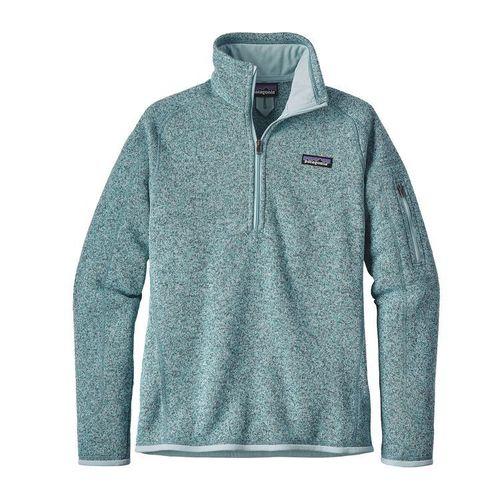 Patagonia W Better Sweater Quarter Zip Tubular Blue / Crevasse Blue