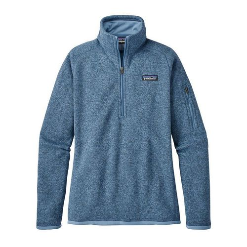 Patagonia W Better Sweater 1/4 Zip - Railroad Blue