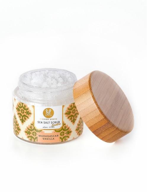 Madagascar Vanilla Salt Scrub 2 oz
