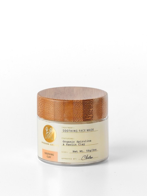 Soothing Clay Face Mask 2 oz