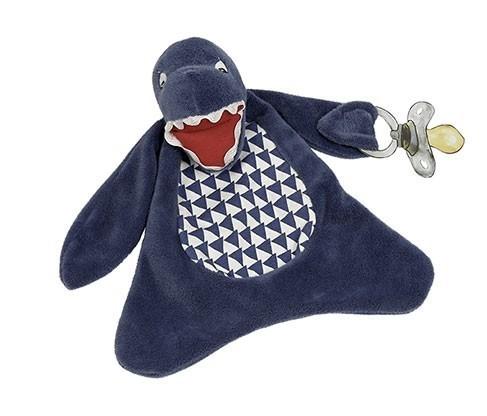 Bruce the Shark Pacifier Blanket