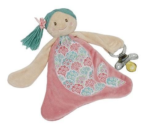 Shellie the Mermaid Pacifier Blanket