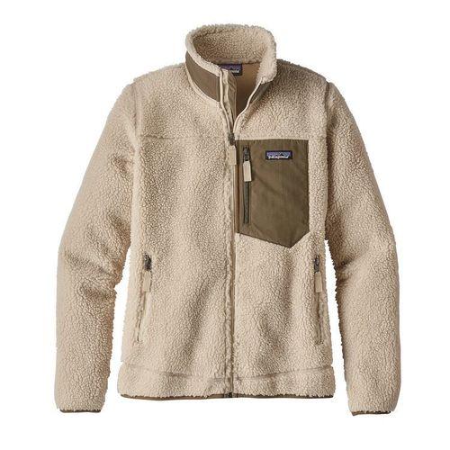 Patagonia W Classic Retro-X Jacket Natural / Dark Ashe