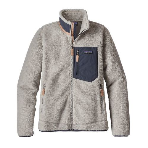 Patagonia W Classic Retro-X Jacket Grey / Smolder Blue