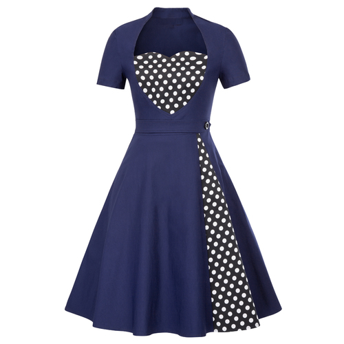 My Heart Dress in Navy