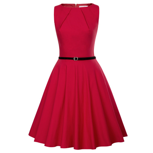 Cordelia Swing Dress (Black or Red)