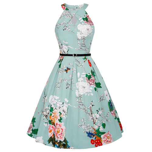 Elora dress in Winter Cherry Tree