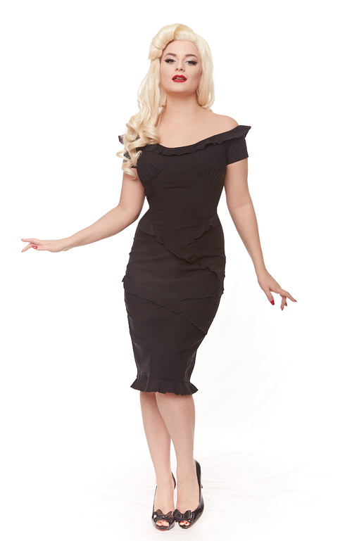 Sidney Dress in Black