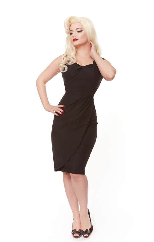 Harmony Dress (Black or Navy)
