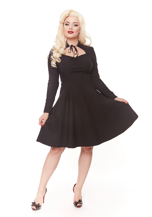 Libby Dress in Black