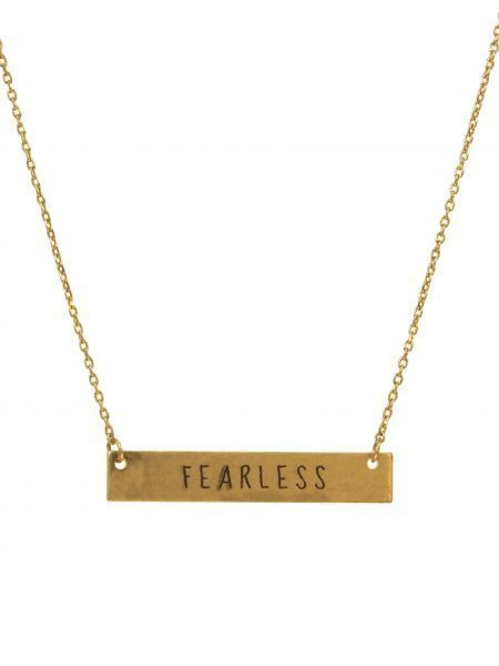 Fearless Necklace Gold