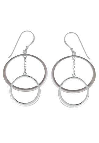 Hi-Polish Matte Dangle Earrings