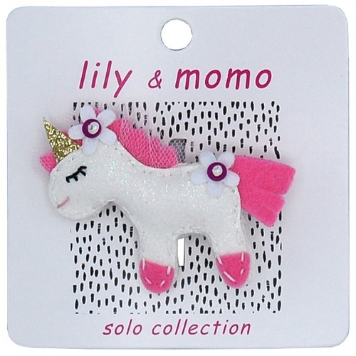 Come Fly with Me Unicorn Hair Clip