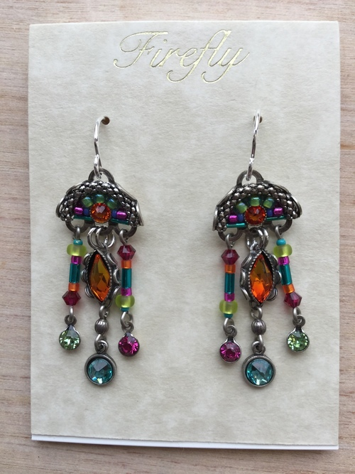 Emma Chandelier Earrings Multicolor