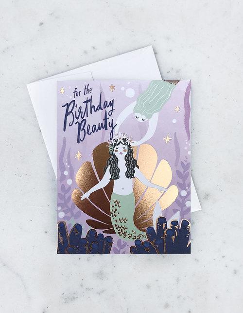 Birthday Beauty Card