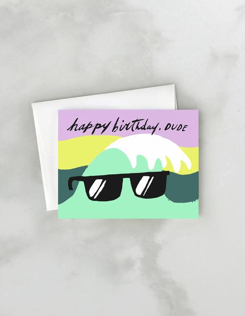 Birthday Wave Card