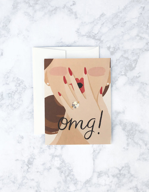 OMG Princess Card