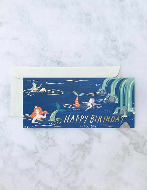 Mermaid Lagoon Card