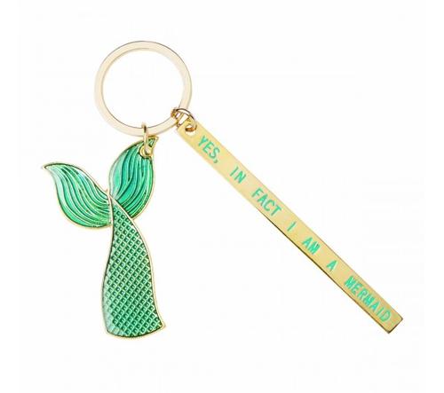 Yes, I am a Mermaid Tail Keychain