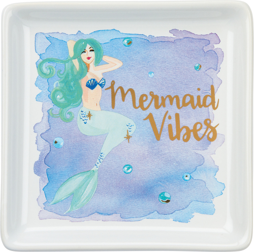 Mermaid Vibes Trinket Tray