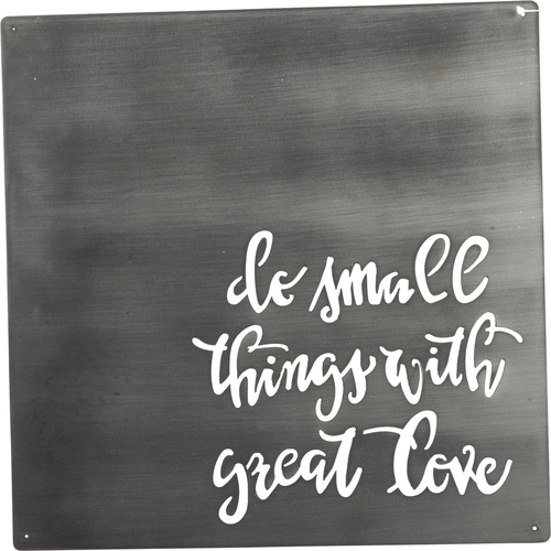 Metal Wall Art Great Love