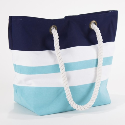 Kids Stripe Beach Tote